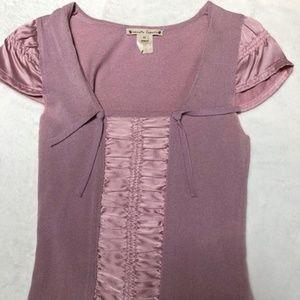 Nanette Lepore XS Women's Lilac Shirt